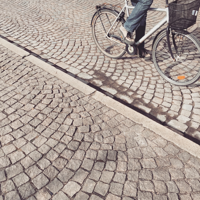 Kullerstensgata i Lund