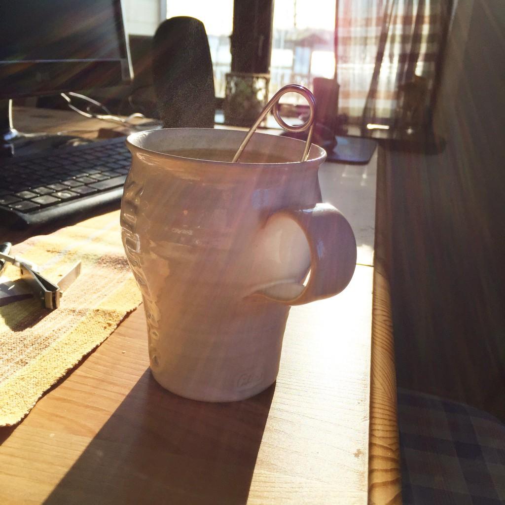 Te i morgonsolen